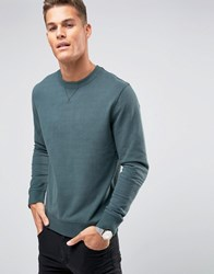 Selected Homme Crew Neck Sweat Green
