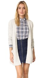 Madewell Ryder Cardigan Heather Fog