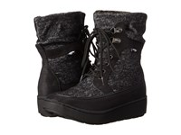 Cray Black Marbles Saloon Women's Lace Up Boots