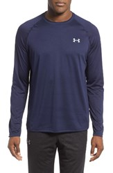 Under Armour Men's Long Sleeve Raglan T Shirt Midnight Navy