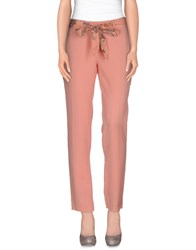 D 21 Trousers Casual Trousers Women Salmon Pink