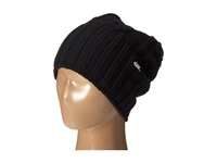 Nike Cable Knit Beanie Black Metallic Silver Beanies