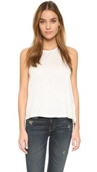 Jack By Bb Dakota Soleil Speckled Tank Ivory