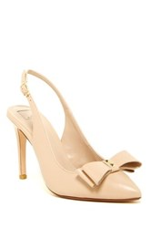 14Th And Union Patrice Slingback Pump Wide Width Available Beige