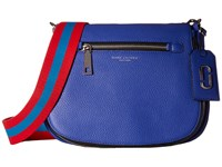 Marc Jacobs Gotham Saddle Bag Cobalt Blue Handbags