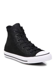 Converse Chuck Taylor Stingray High Top Sneakers Black White