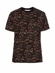 Givenchy Columbian Fit Screaming Monkey T Shirt Black Multi