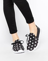 Y R U Yru Beam Spotty Trainers Black