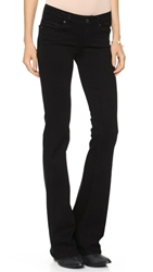 Paige Transcend Skyline Boot Cut Jeans Black Shadow