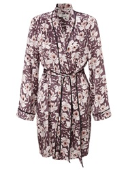 Alice By Temperley Somerset By Alice Temperley Orchid Bloom Silk Robe Multi