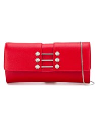 Versus Button Clutch Clutch Red