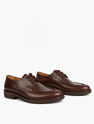 A.P.C. Brown Octave Derby Shoes