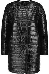 Rebecca Minkoff Crystal Padded Shell Coat Black
