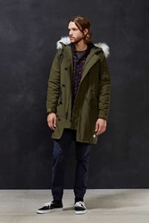 Penfield Paxton Long Insulated Jacket Dark Green