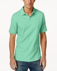 Club Room Big And Tall Men's Polo Shirt Only At Macy's Menthol Mint