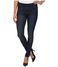 Jag Jeans Nora Pull On Skinny Comfort Denim In Anchor Blue Anchor Blue Women's Jeans