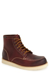 Eastland 'Lumber Up' Moc Toe Boot Men Oxblood Leather