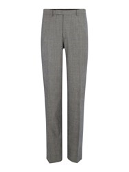 New And Lingwood Heywood Check Suit Trouser Grey