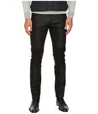 Belstaff Blackrod Regular Fit Raw Stretch Motor Denim In Black