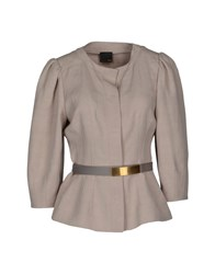 Fendi Suits And Jackets Blazers Women Light Grey