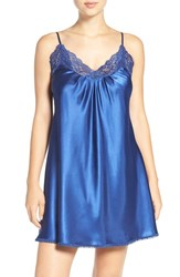 Oscar De La Renta Women's Sleepwear Charmeuse Chemise Starry Night
