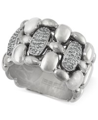 Effy Collection Balissima By Effy Diamond Ring 1 3 Ct. T.W. In Sterling Silver