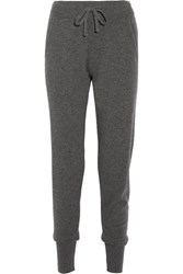 Calvin Klein Collection Cashmere Track Pants Dark Gray