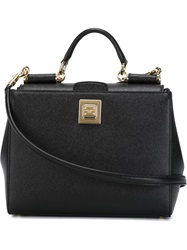 Dolce And Gabbana 'Sicily' Tote Black