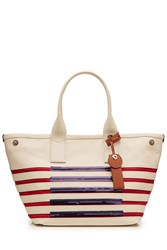 Marc By Marc Jacobs Large Tote Stripes Multicolor