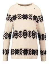 Replay Nordic Jumper Pale Moon Off White