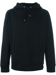 Hood By Air Printed Hoodie Sweatshirt Black