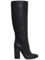 Lerre 100Mm Grained Leather Boots