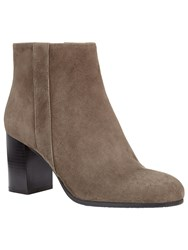 Phase Eight Ellen Block Heel Ankle Boots Grey