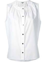 Kenzo Sleeveless Top White