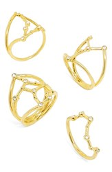 Baublebar Women's Intergalactic Set Of 4 Rings