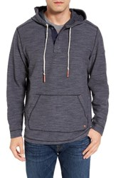 Tommy Bahama Men's Big And Tall Poncho Pop Henley Hoodie