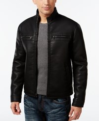 Inc International Concepts Lionel Faux Leather Jacket Only At Macy's