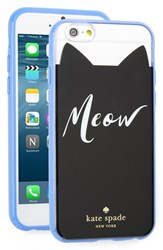 Kate Spade New York 'Meow' Iphone 6 And 6S Case Black Clear Multi