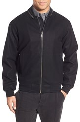 Men's French Connection 'Reed' Convertible Melton Bomber