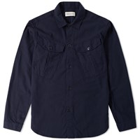 Oliver Spencer Trafalgar Overshirt Blue
