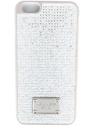 Michael Michael Kors Embellished Iphone 6 Plus Cover Grey
