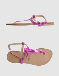 Fabio Rusconi Thong Sandals Fuchsia