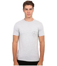 Altamont Sharp Angles Circle Pocket Grey Heather Men's T Shirt Gray