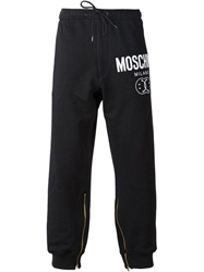 Moschino Smiley And Logo Print Track Pant