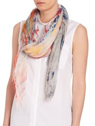 Peserico Watercolor Scarf