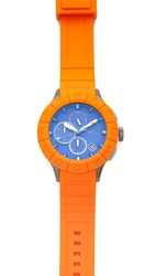 Marc By Marc Jacobs Buzz Track Watch Orange Blue