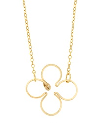 By Philippe Four Leaf Clover Necklace