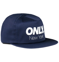 Only Ny Athletic Snapback Cap In Navy Huh. Store