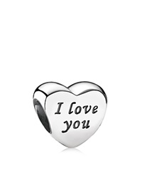 Pandora Design Pandora Charm Sterling Silver Words Of Love Moments Collection