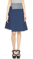 Clover Canyon Solid Skirt Indigo Grey